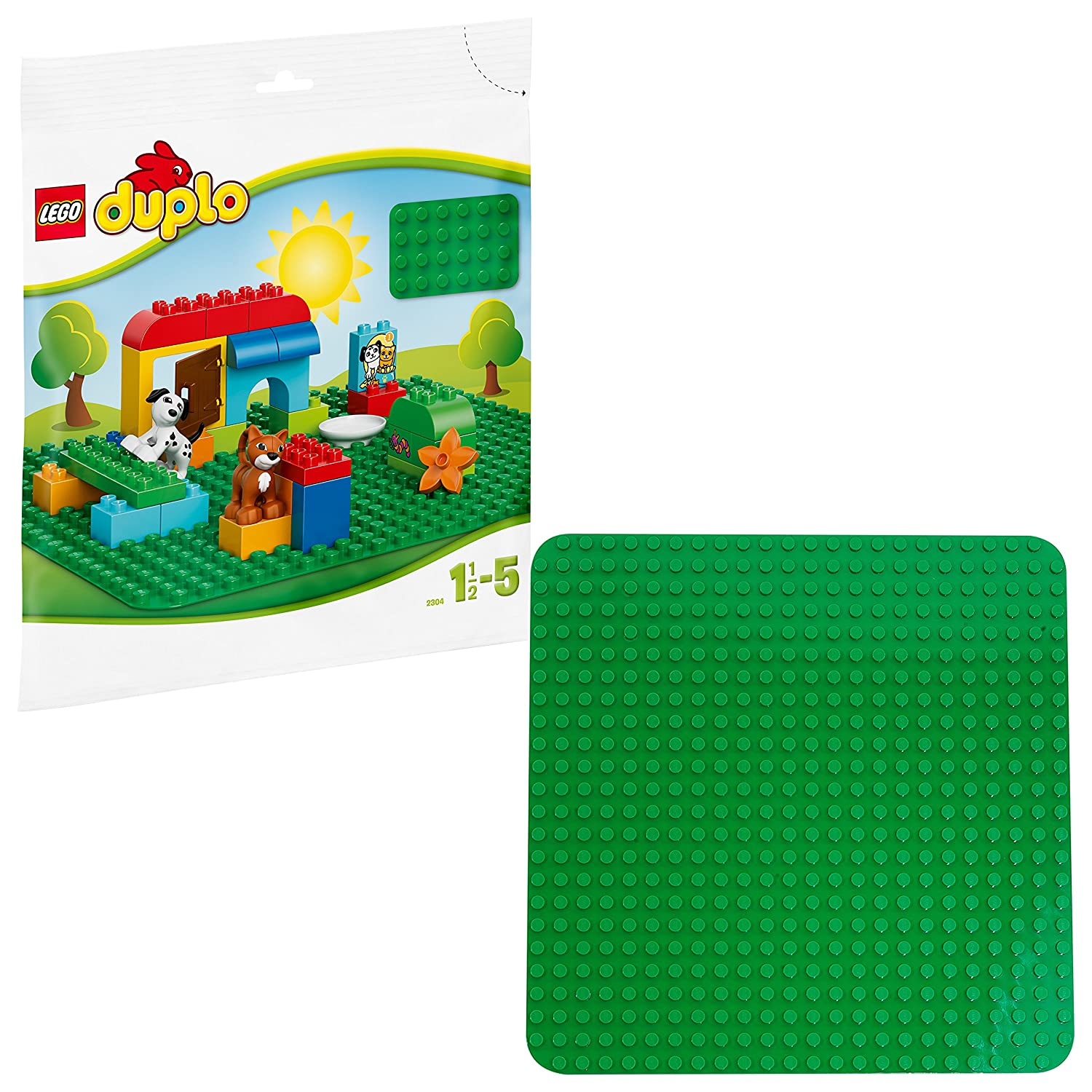 LEGO 2304 Duplo Large Green Building Plate Creative Preschool Toy Base Bulk Building_Sets Lego Shop