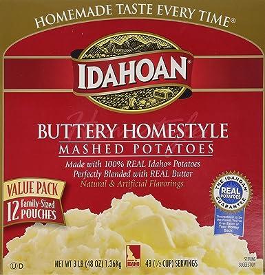 Idahoan Real Premium Mashed Potatoes 3 25lbs