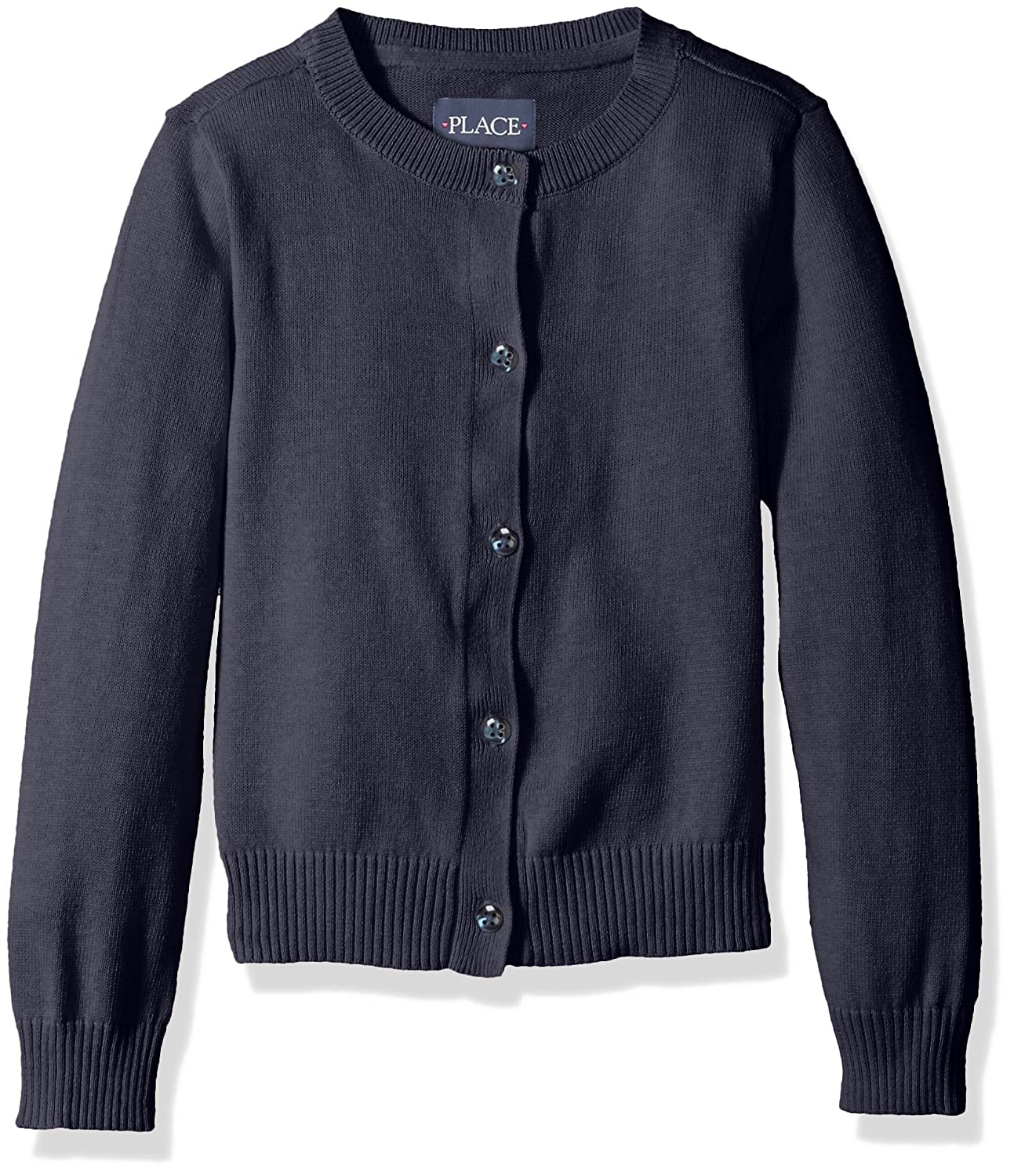 The Children's Place Girls' Uniform Cardigan Sweater 2066589