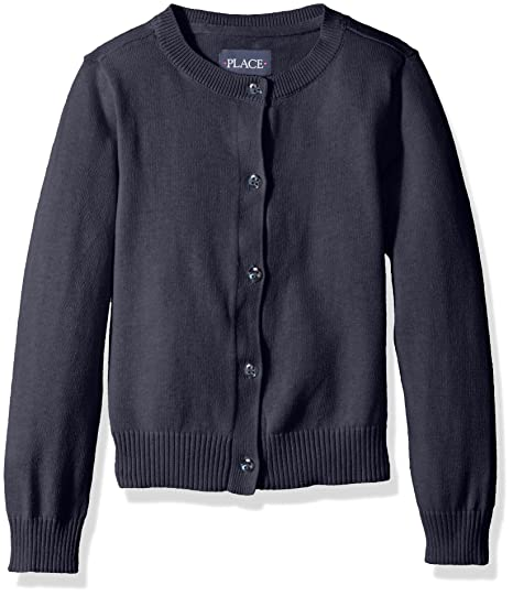 9fe4ef9bf49eb The Children's Place Baby Girls' Toddler Uniform Cardigan Sweater