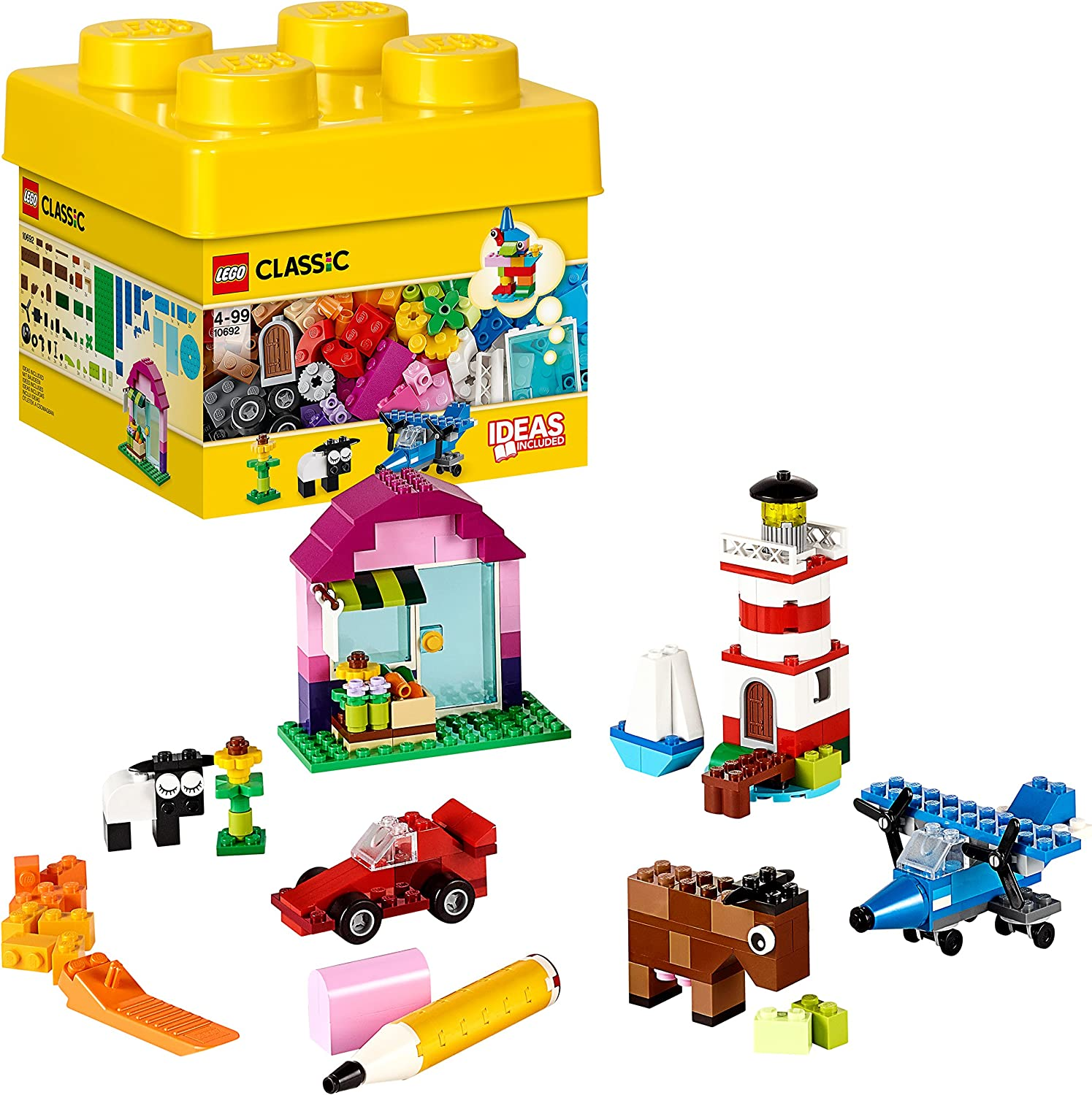 LEGO 10692 Classic Creative Bricks Learning Toy for Childre