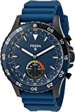 Fossil Hybrid Smartwatch - Q Crewmaster Blue Silicone