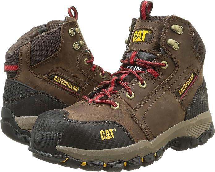 Tobillo Alto Hombre Zapatos de Seguridad Caterpillar Navigator Mid St S3 HRO Sra