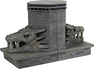 Dark Horse Deluxe Game of Thrones: Dragonstone Gate Dragon Bookends Set, Assorted
