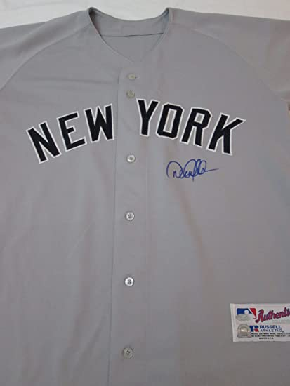 new style 3c7f4 102f7 Signed New York Yankees DEREK JETER autographed away style ...