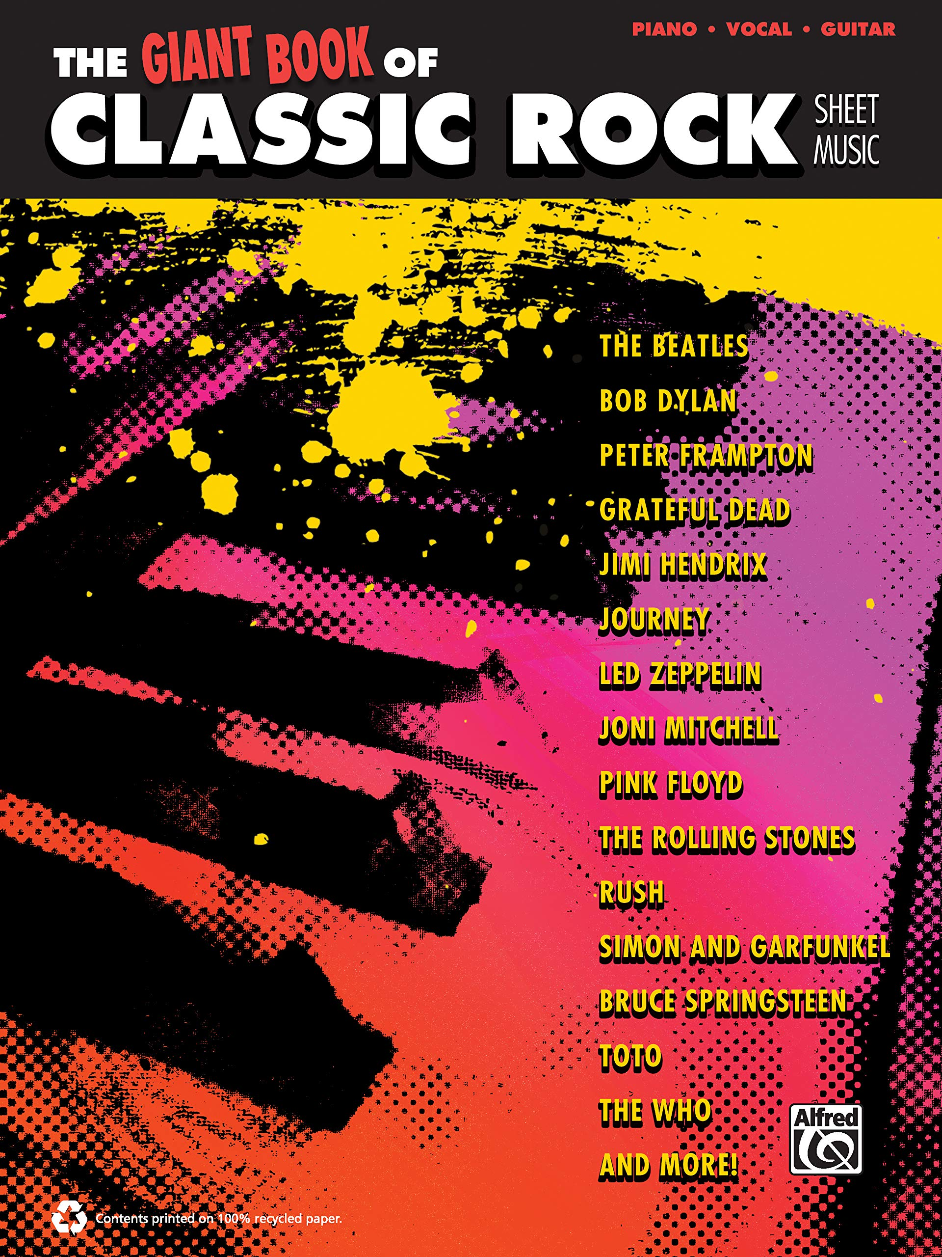 The Giant Classic Rock Piano Sheet Music Collection Piano//Vocal//guitar