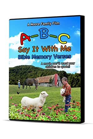 Say It With Me ABCs With Bible Scriptures