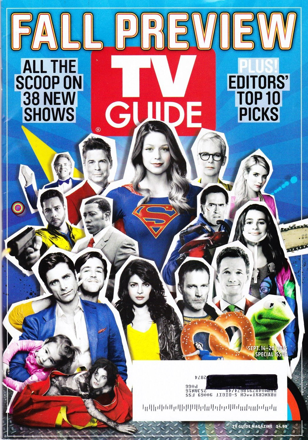 TV Guide - September 14-20, 2015 - Fall Preview: All the Scoop on 38 New Shows PDF