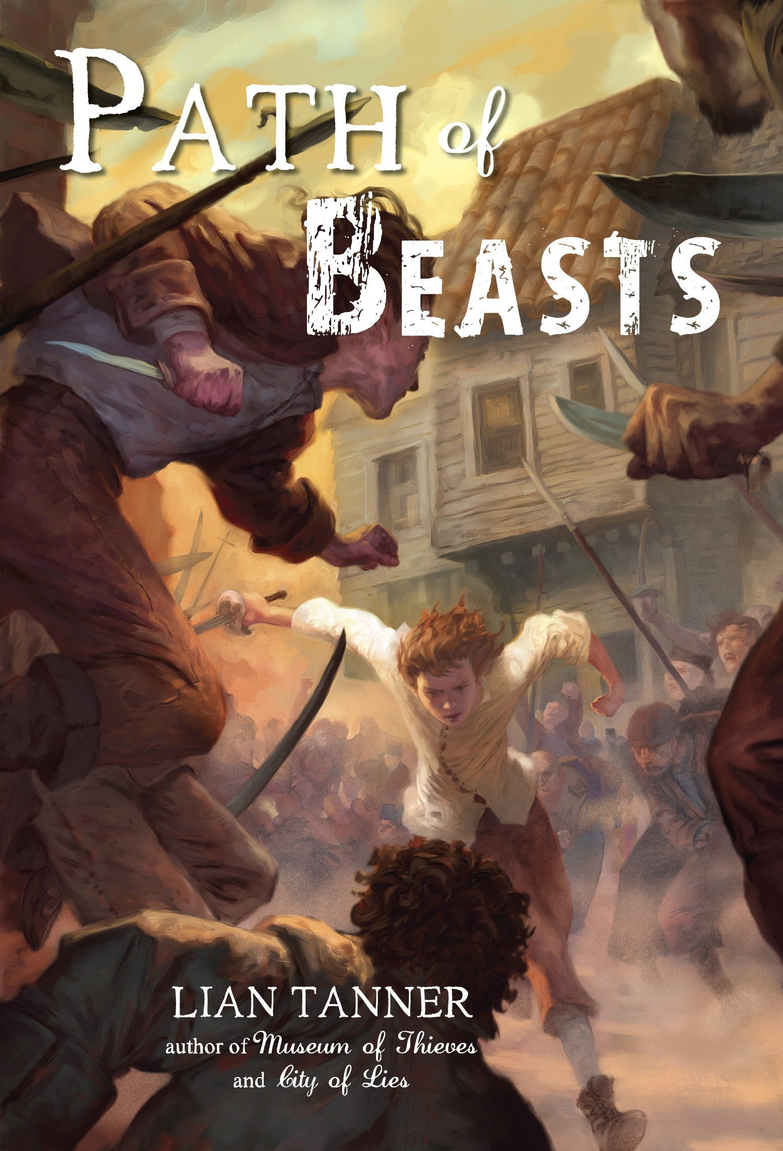 Amazon.com: Path of Beasts (Keepers Trilogy) (9780375859809): Lian ...