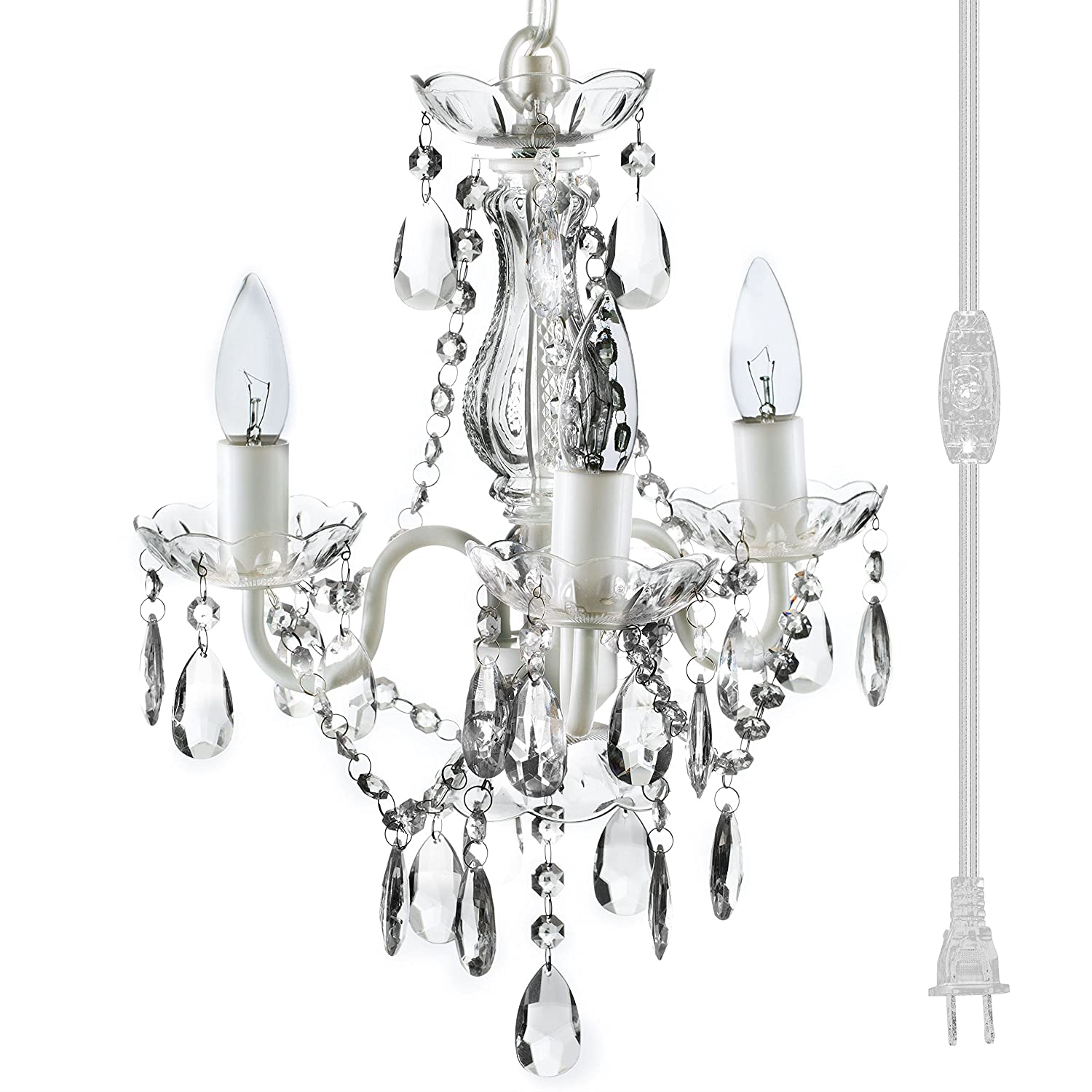 quality design 69014 be528 The Original Gypsy Color 3 Light Mini Plug-in Crystal Chandelier for H17