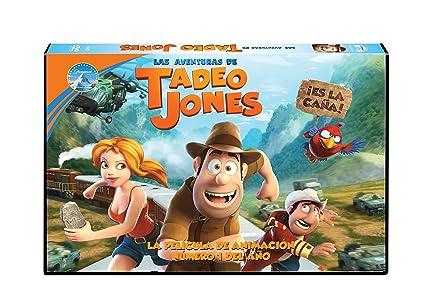 Tadeo Jones - Edición Horizontal [DVD]: Amazon.es: Personajes animados, Enrique Gato, Personajes animados, Lightbox Entertainment, Toro Pictures, Ikirufilms, Studiocanal: Cine y Series TV