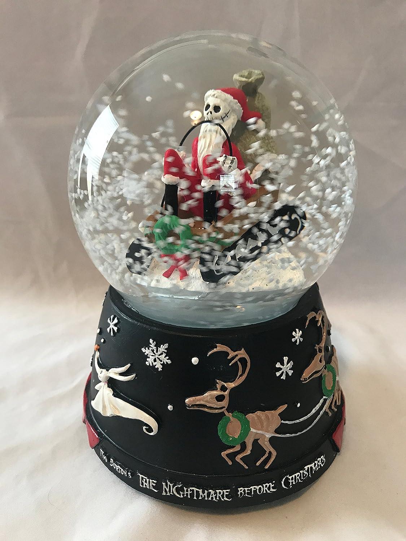 Amazon.com: The Nightmare Before Christmas Jack Skellington Santa\'s ...