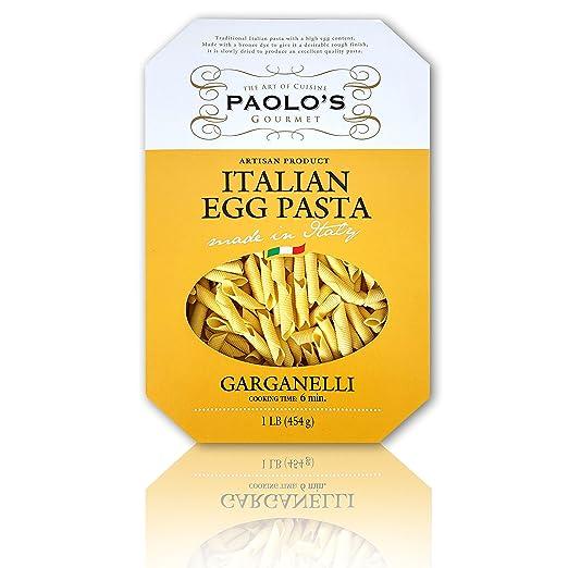 PAOLO Garganelli Egg Pasta, 1 Pound