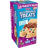 Kellogg's Rice Krispies Treats, Crispy Marshmallow Squares, Variety Pack, with Writable Wrappers, 12.4oz Box (16 Count)
