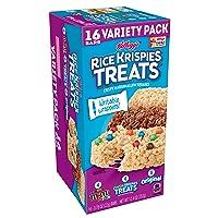 Kellogg's Rice Krispies Treats Original Marshmallow Bars - Classic Kid School Snack...