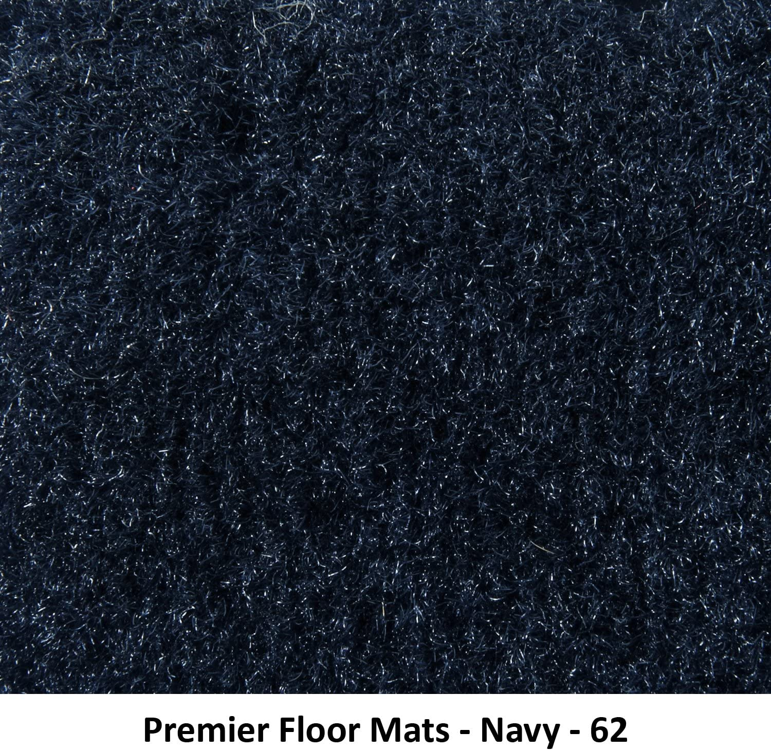 Premier Custom Fit 4-piece Set with 2 piece front 1 midrunner and 1 rearrunner Carpet Floor Mats for Ford and Lincoln Premium Nylon, Smoke