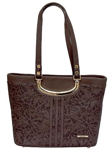 bb0431f4b41e J BLUES Women s Shoulder Bag (Brown)  Amazon.in  Shoes   Handbags