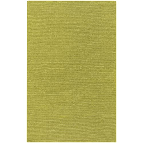 Surya Mystique M-337 Transitional Hand Loomed 100 Wool Olive Oil 6 x 9 Area Rug
