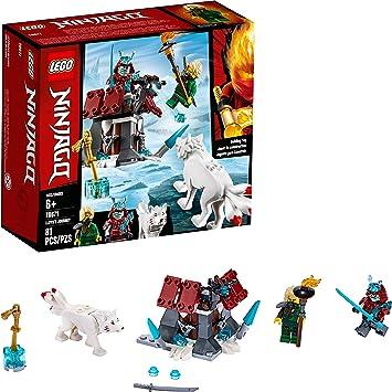 Amazon.com: LEGO Ninjago Lloyds Journey 70671 Kit de ...