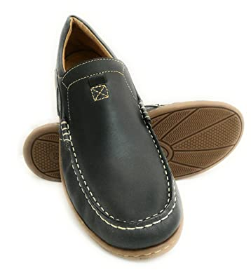 Nautical Leather Shoe Flexible Rubber Sole 100% Premium Leather Inner Lining Large Size: 47 To 50 Brown