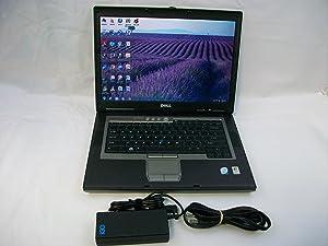 Dell D830 Laptop Microsoft Windows 7 Core 2 Duo 1.8 GHz 2 GB 80 GB Wireless