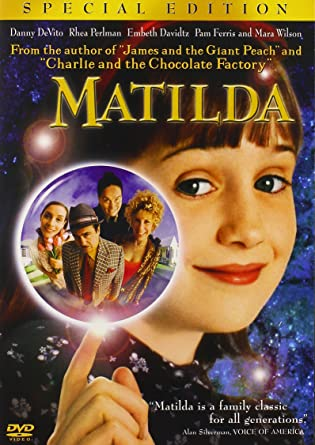 Image result for matilda movie poster