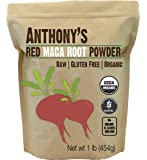 Organic Red Maca Powder (1lb) by Anthony's, Raw, Non-GMO & Gluten Free (Non-Gelatinized)