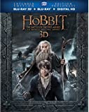 The Hobbit: The Battle of the Five Armies Extended Edition [Blu-ray 3D + Blu-ray + Digital Copy]