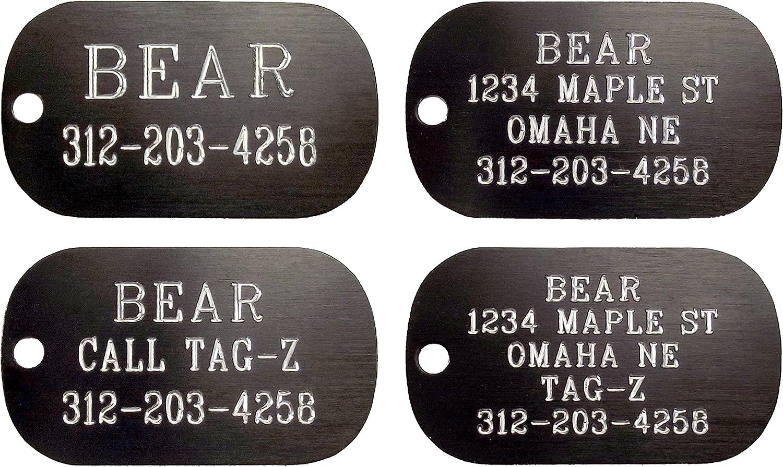 Military Shape Customized Texas Tech Red Raiders NCAA Pet Tag