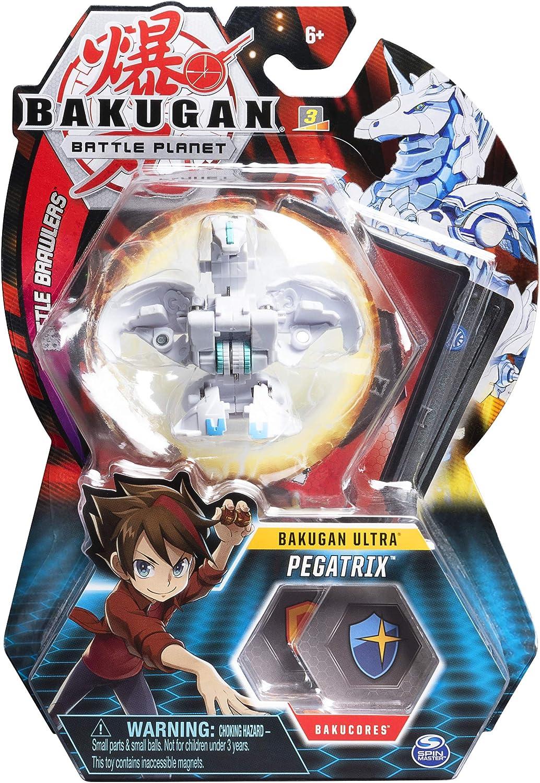 Bakugan Ultra, Pegatrix, figura de acción coleccionable de 3 ...