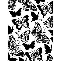 Darice Carpetas de estampación, Plantilla Mariposas, Plastic, 8.5x5.3x0.11