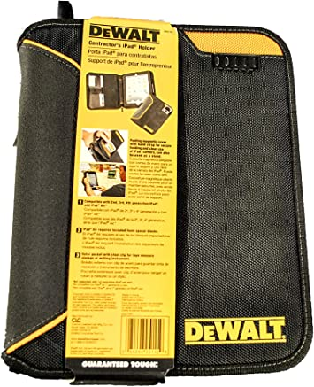 Custom Leathercraft Dewalt DG5142 Pro Contractors Business Portfolio with Flex-Light