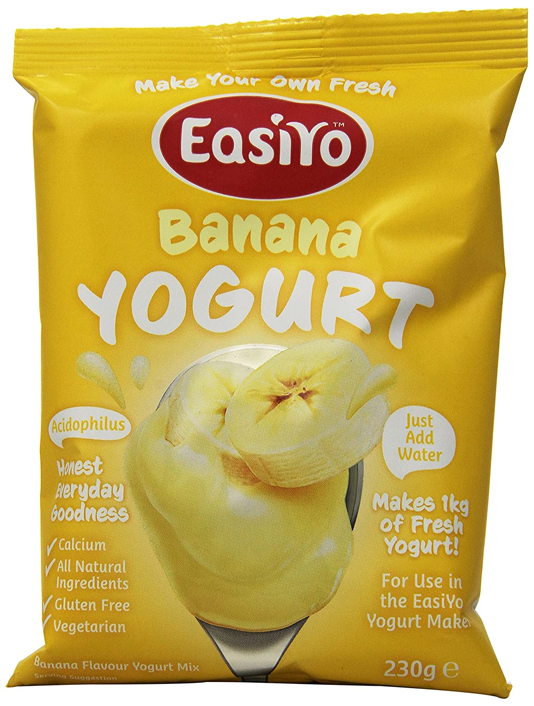 EasiYo Yogurt Mix, Low Fat Greek, 4 Count New Zealand Natural Goods COMIN16JU020398