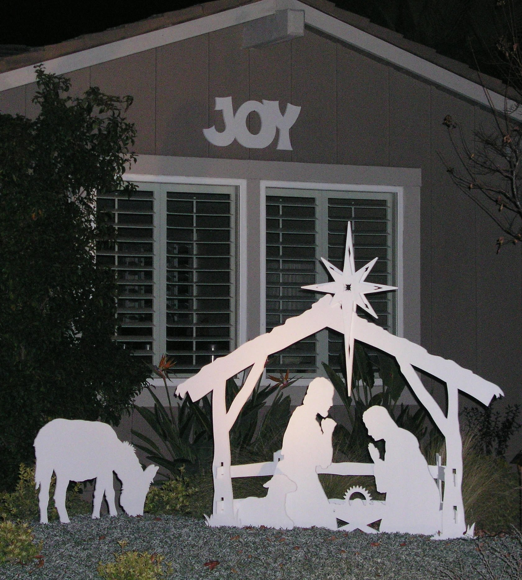 Medium Donkey for MyNativity Outdoor Nativity Set (3 sizes available)