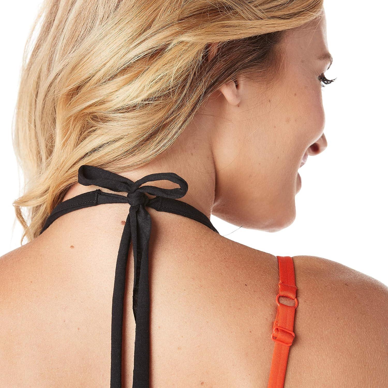 Zumba Women's Fashion Print Loose Fit Workout Halter Top Tank