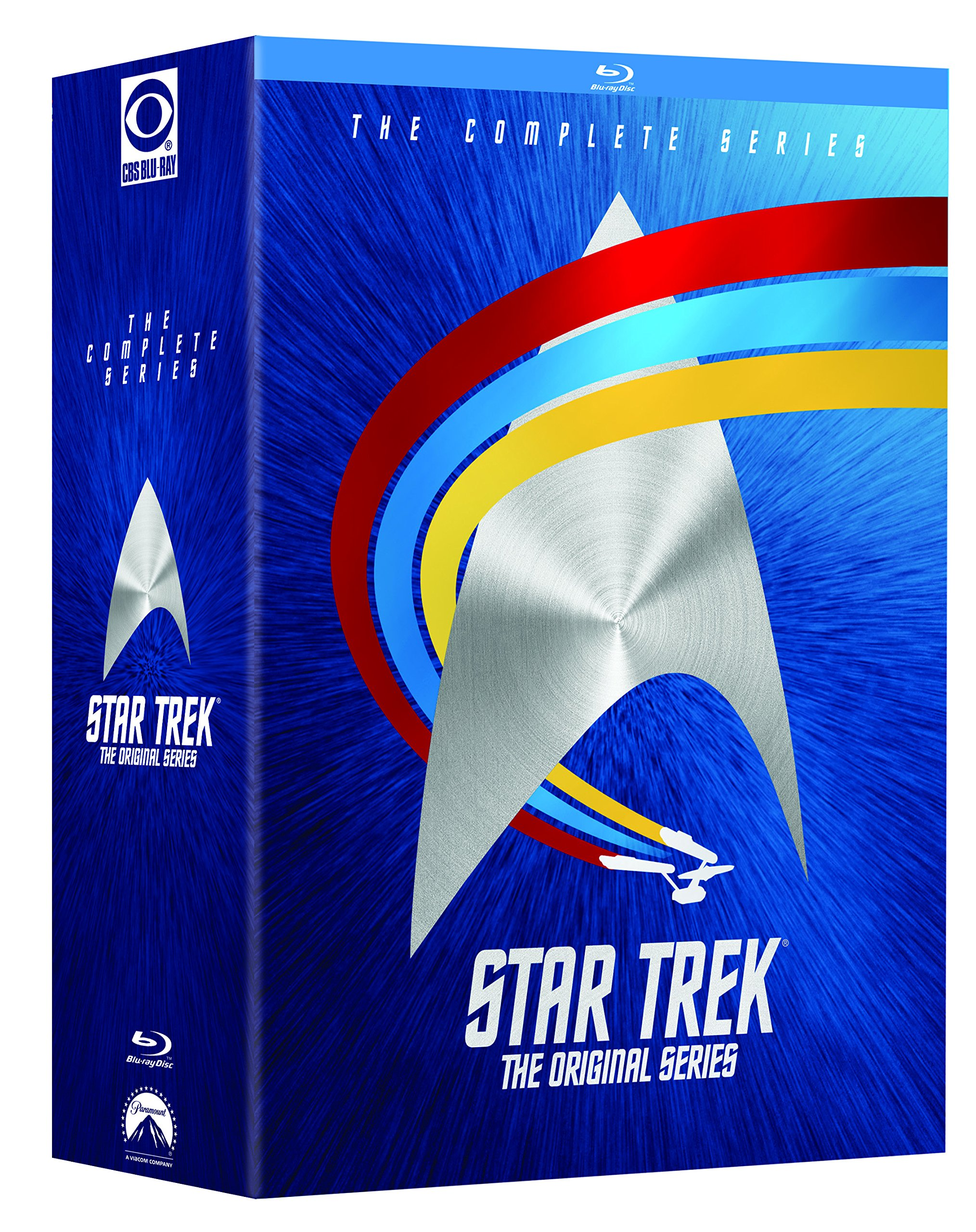 Blu-ray : Star Trek - The Original Series: The Complete Series (Boxed Set, Dubbed, , Digital Theater System, Widescreen)
