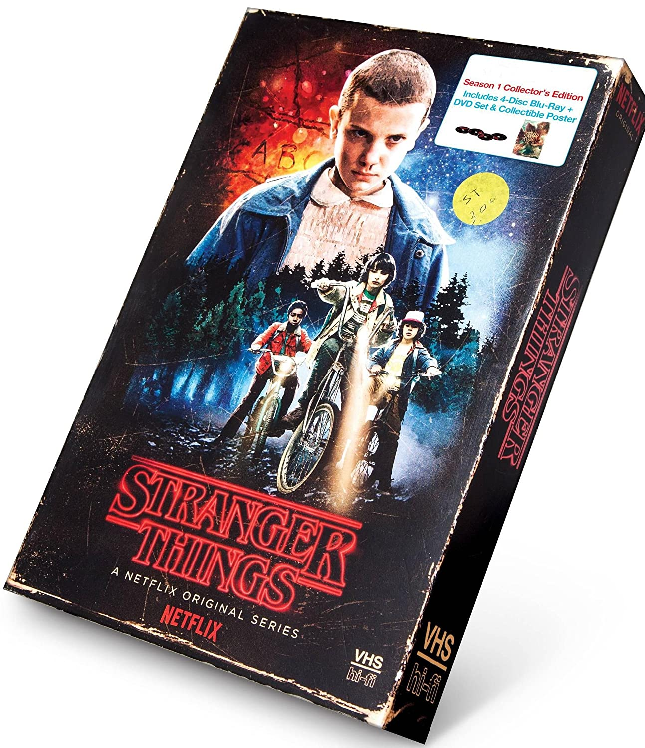 Amazon com: Stranger Things Season 1 4-disc DVD / Blu-Ray