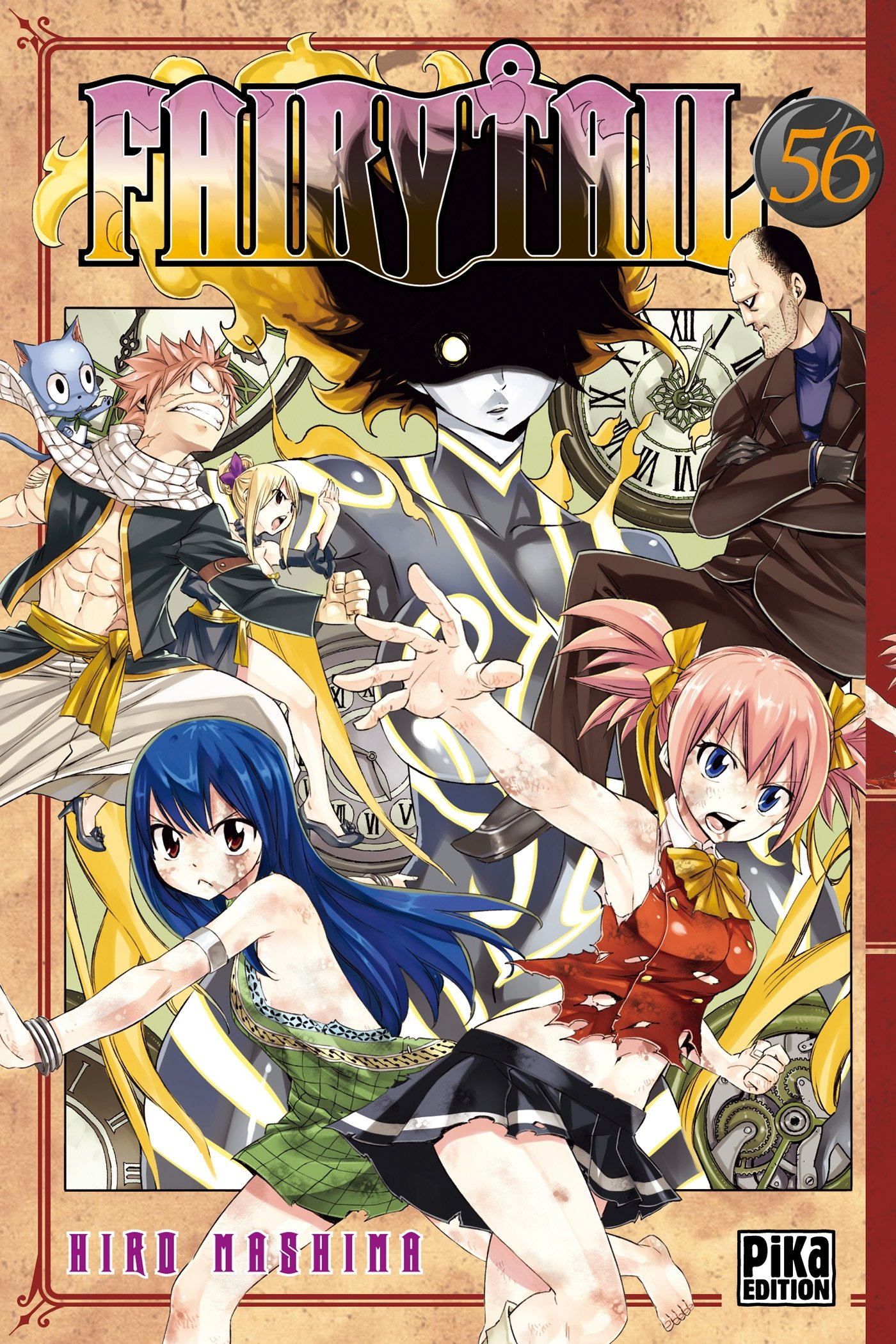 Fairy Tail T56 French Edition Hiro Mashima Pika