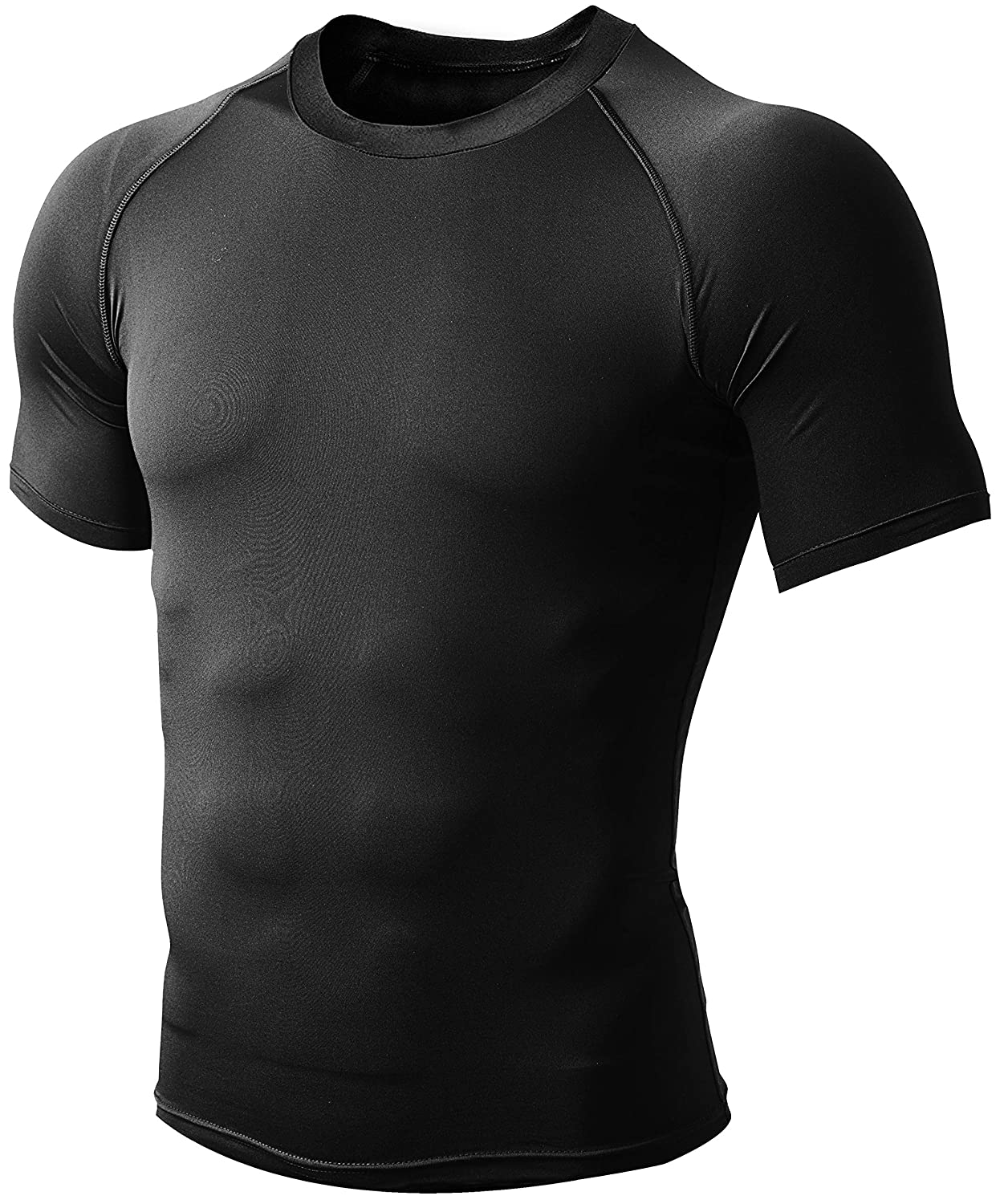 Defender Mens Cool Dry Compression Baselayer Quick Dry Running Shirt