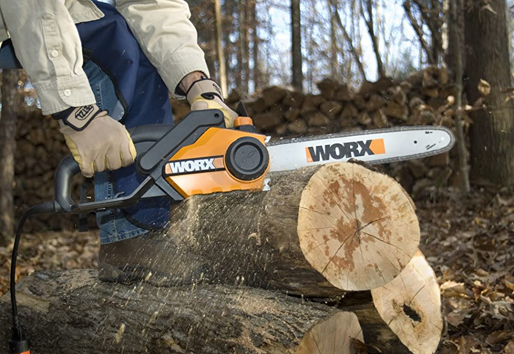 "WORX 16"" 14.5 Amp Electric Chainsaw Review"