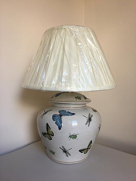 India Jane Dragonfly Ceramic Lamp Base