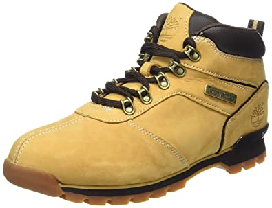 Timberland Mens Splitrock 2 Wheat Leather Boots 7.5 US