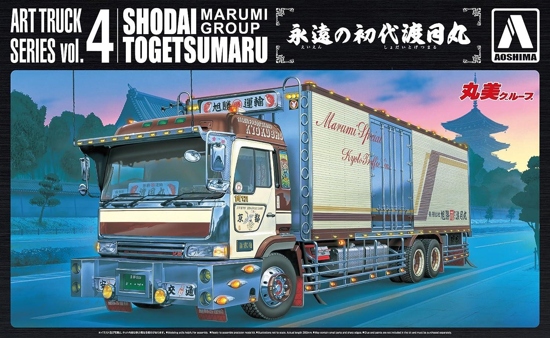 青島文化教材社 1/32 アートトラックシリーズ No.4 永遠の初代渡月丸 プラモデル B00JOYVDZY