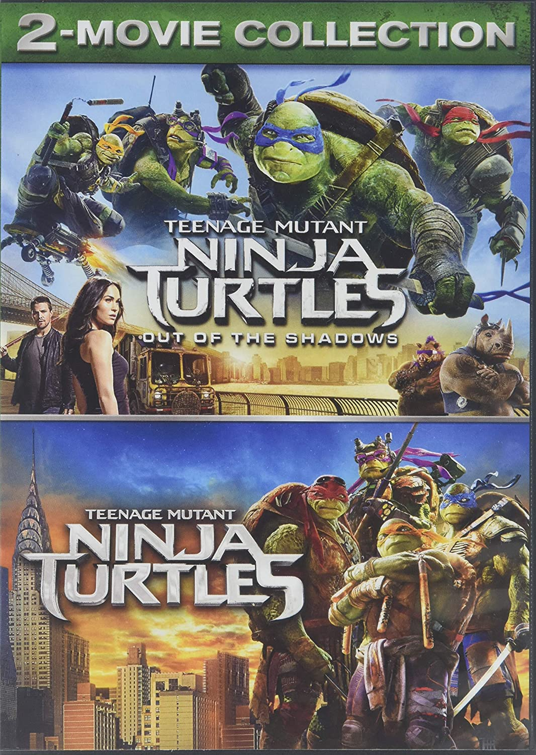 Amazon Com Teenage Mutant Ninja Turtles 2 Movie Collection Movies Tv