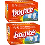 Bounce Fabric Softener Sheets, Outdoor Fresh 240 Count, 2-Pack