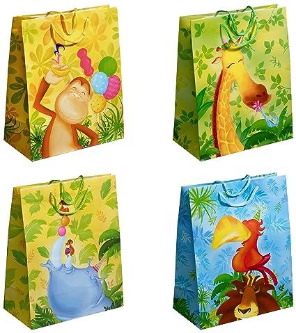 TSI 12 - Bolsas de regalo decoradas con motivos infantiles ...