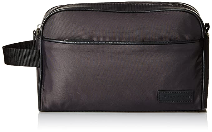 Amazon.com: Perry Ellis Mens New Nylon Travel KIT, navy, 1 ...