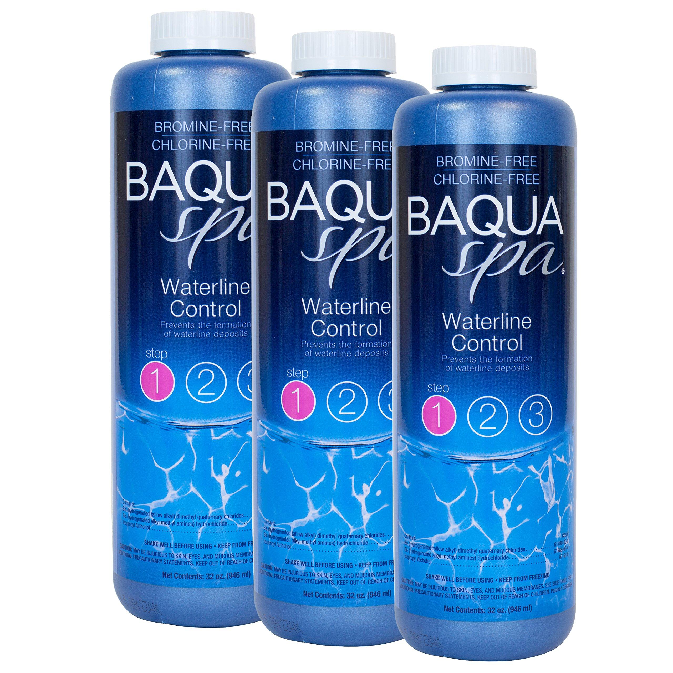 Baqua Spa Waterline Control (1 qt) (3 Pack) by Baqua Spa