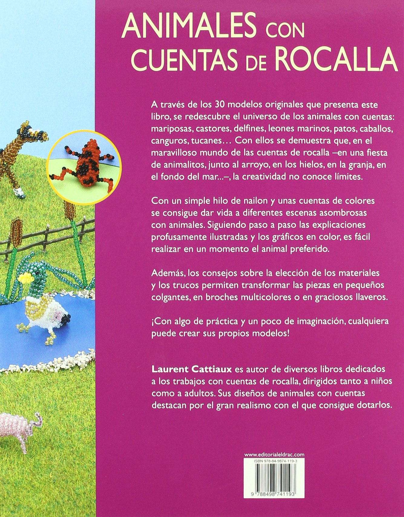 Animales con cuentas de rocalla / Animals Garden Design ...