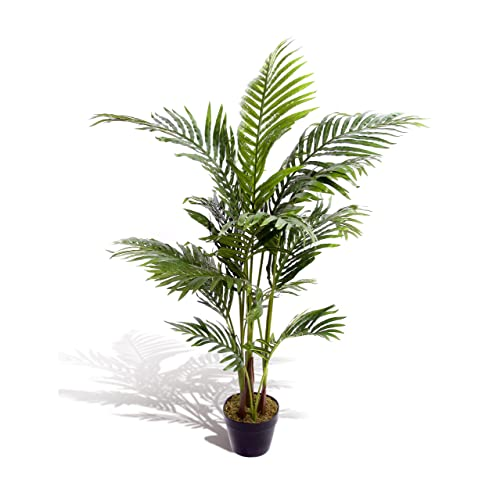 Superieur Best Artificial 120cm / 4ft Areca Palm Tree Tropical Office Conservatory  Indoor Outdoor Garden Plant